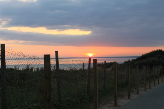 Isle of Wight sunset