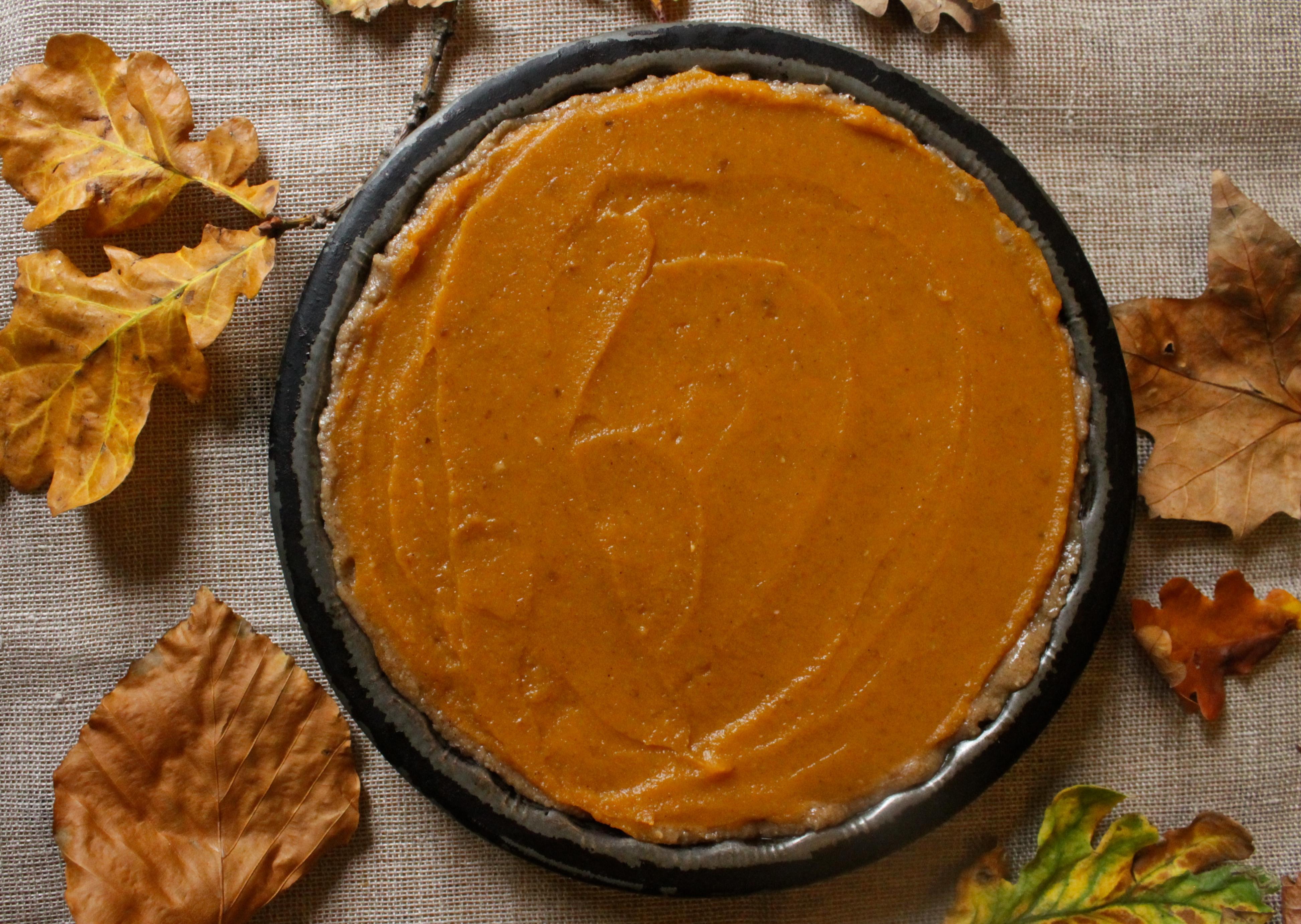Gluten Free, Vegan Pumpkin Pie