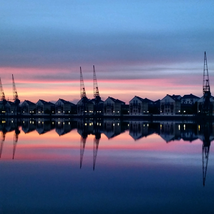 London Docklands Sunrise