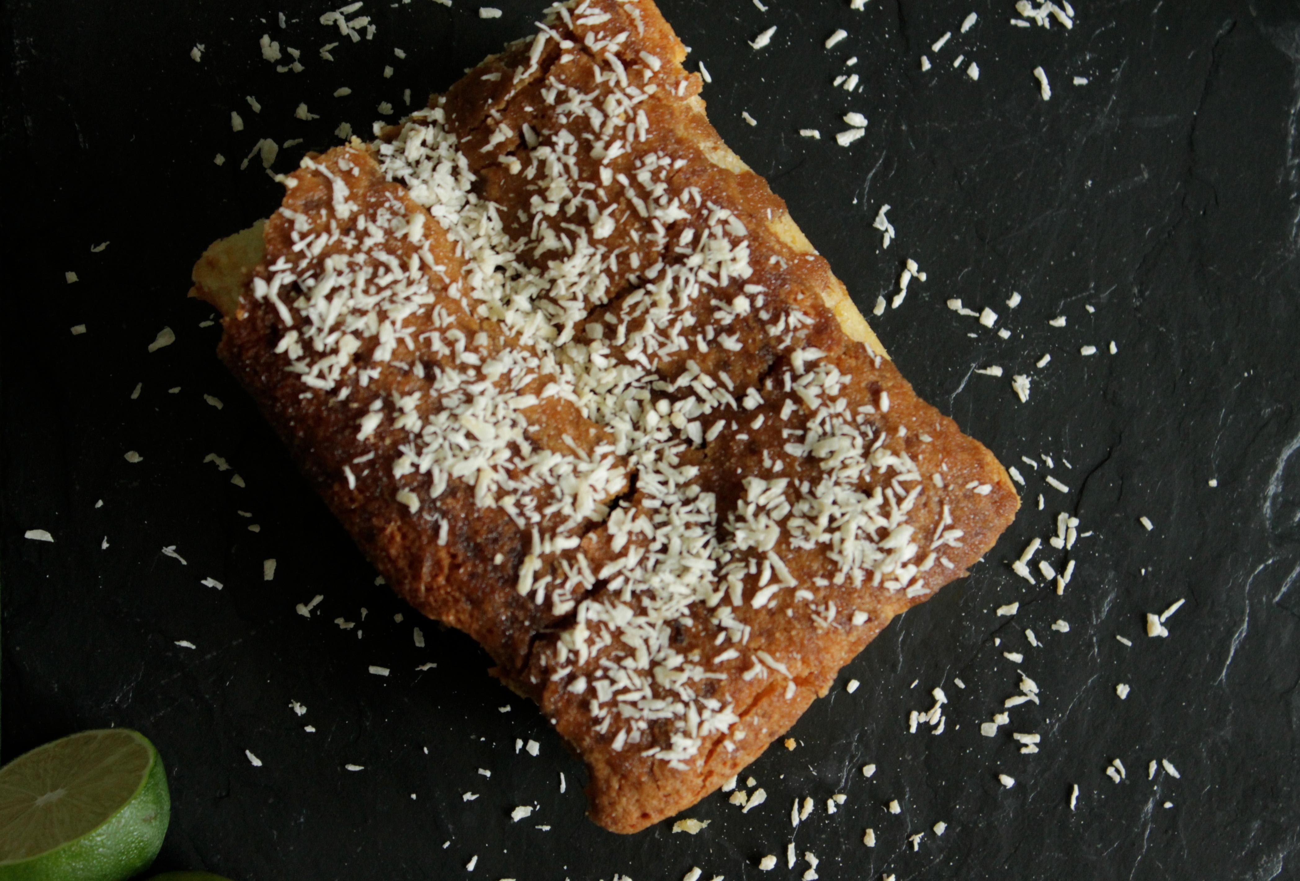 Gluten Free Coconut Mojito Cake